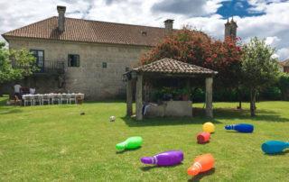Rectoral de Areas - Bolos en jardín